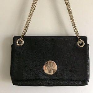 Kate Spade Black Leather Shoulder Bag/ Crossbody B